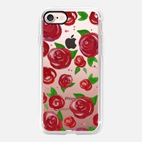 Red Roses Watercolor Phone Case iPhone 7 Case by Stephanie Denne | Casetify