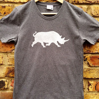 Rhino t-shirt - look cool & help to save the Rhino