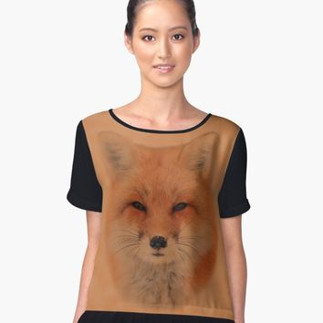 'Fox' Contrast Tank by valezar