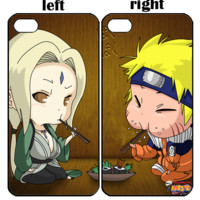 Naruto and Tsunade X0010 iPhone 4S 5S 5C 6 6Plus, iPod 4 5, LG G2 G3 Nexus 4 5, Sony Z2 Couple Cases