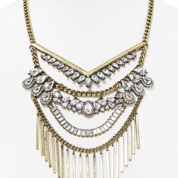 BAUBLEBAR Ciela Bib Statement Necklace, 16"