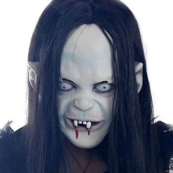 ESBONIS Horror Halloween Mask Witch Mask Halloween Props G