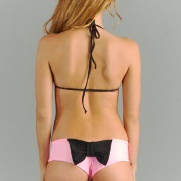 *EXCLUSIVE* for ISHINE365 ONLY Lolli Swim Orchid Bow Bottom