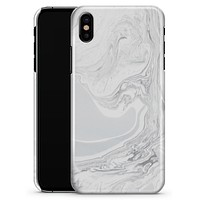 Gray 11 Textured Marble - iPhone X Clipit Case
