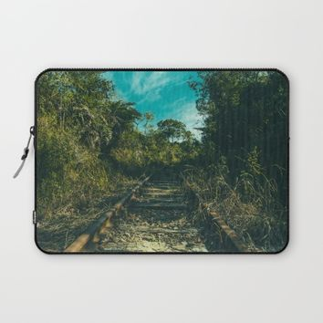 Abandoned Laptop Sleeve by Mixed Imagery