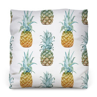 Pineapple Purist Throw Pillow