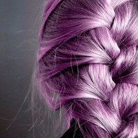 HAIR CHALK: Purple (Medium) // Temporary Hair Color // Chalk Pastel Dye