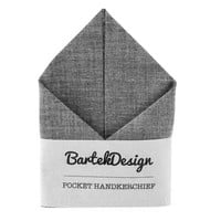 Pocket Handkerchief by BartekDesign Dark Gray