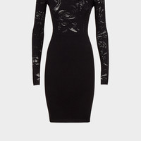 Versace Baroque Crepe Knit Dress for Women | US Online Store