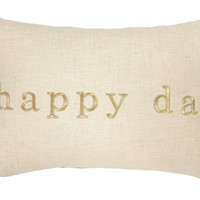 Happy Day Pillow 14X20""