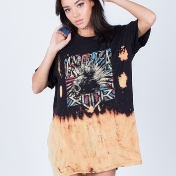 Graphic Tee Dress