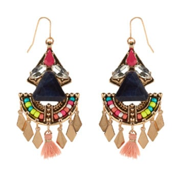 Havana Statement Earrings | Multi | Accessorize