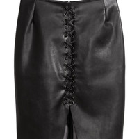 H&M Skirt with Lacing $34.99