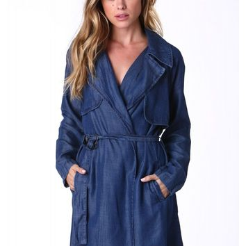 Upgrade Your Denim Trench Coat