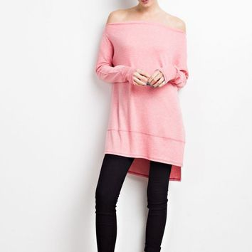 Off The Shoulder Tunic
