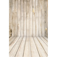 5X7ft  Wooden Board Wallpaper Children Baby Photography Background Vinyl Background for Photo Studio Gallery Backdrops Floor-312