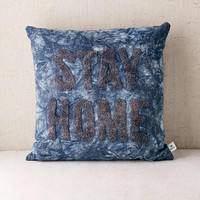 Stay Home Pillow | Urban Outfitters
