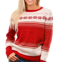 Red Holiday Sweater