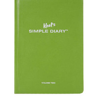 Keels Simple Diary - Olive