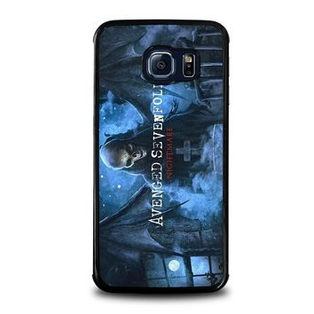 avenged sevenfold samsung galaxy s6 edge case cover  number 1