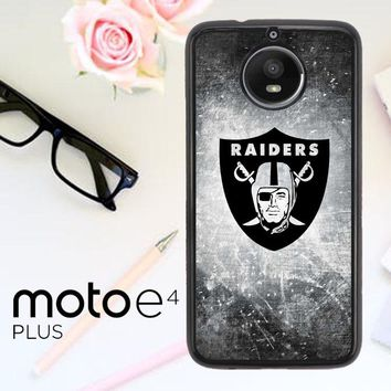 Oakland Raiders X4522 Motorola Moto E4 Plus Case