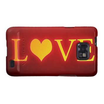 Love Galaxy SII Case