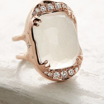 Desiderium Moonstone Ring