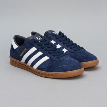 adidas Hamburg (New Navy / Metallic Gold / Running White) | Oi Polloi