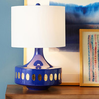 Spotted Gold Lamp Ensemble