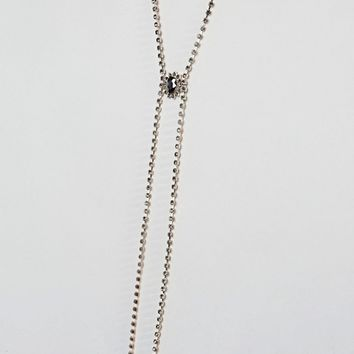 Liars & Lovers Cupchain Drape Necklace at asos.com