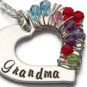 Grandmothers Necklace, Wrapped In Love
