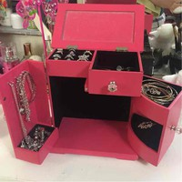 Pink Jewelry box($ 17) - Mercari: Anyone can buy & sell