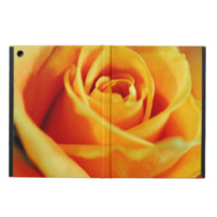 Flame colored rose iPad air covers