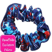 NEW! Patriot Gymnastics and Dance Hair Scrunchie by Snowflake Designs