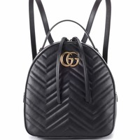 GG Marmont matelassé leather backpack