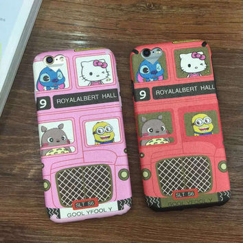 Iphone 6/6s Cute Stylish On Sale Hot Deal Hot Sale Iphone Cartoons Cats Soft Apple Phone Case [6034115457]