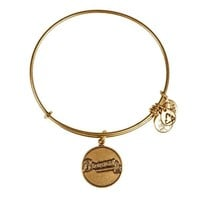 Alex and Ani Atlanta Braves Primary Logo Charm Bangle - Rafaelian G...