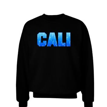 Cali Ocean Bubbles Adult Dark Sweatshirt by TooLoud