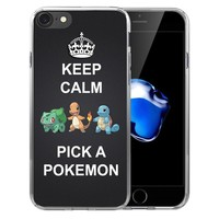 Charizard Squirtle Vaporeon s Soft Transparent Silicone  case Cover For iPhone X 8 7 7Plus 6 6S Plus 5 5S SEKawaii Pokemon go  AT_89_9