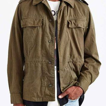Urban Renewal Vintage Czech Field Jacket- Green