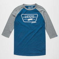 VANS Port Patch Mens Baseball Tee | L/S & Baseball Tees