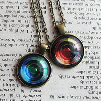 Camera Lens Pendant - Camera Lens Necklace - Gift for Photographer - Camera Lover Pendant - Photography Jewelry - Photo Gift - Lens Pendant