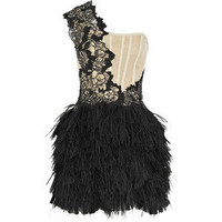 Embellished corset dress - Marchesa - Polyvore