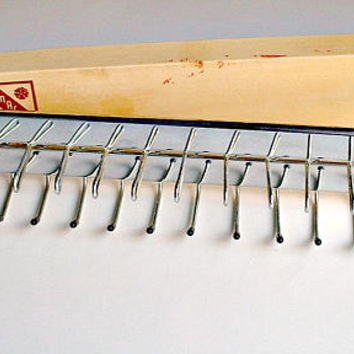 Vintage Ty-Master Automatic Tie Rack Wall Mount in Box