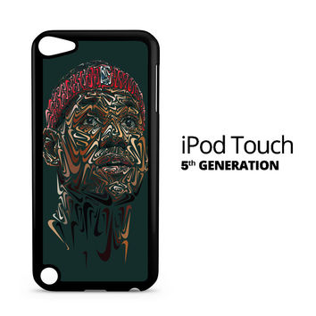 Lebron James Face iPod Touch 5 Case