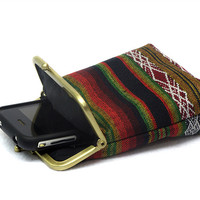 Smartphone Case -Cigarette Case with pocket inside
