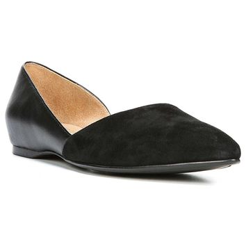 Naturalizer Naturalizer Womens Samantha Leather Pointed Toe Ballet Flats Ballet Flats | Bluefly.Com