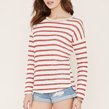 Stripe French Terry Top | Forever 21 - 2000203419