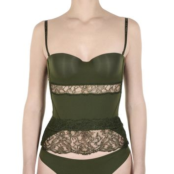 La Perla Top Womens Bustier Dark Green