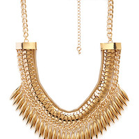 In Command Bib Necklace